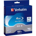 Verbatim 97238 Blu-Ray 25GB 6x (BD-R) spindle 10pk