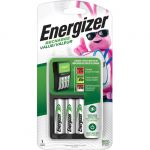 Energizer CHVCMWB-4 Battery Charger with 4 AA Batteries