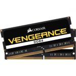 Corsair CMSX8GX4M2A2400C16 8GB (2x4GB) DDR4 CS748V 2400 CL16 1.2V SODIMM Vengeance Performance Notebook Memory for 6th Generation