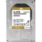 WD Gold WD6002FRYZ 6TB SATA3 7200RPM Internal 3.5in Hard Drive 128MB DRAM cache