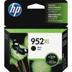 HP F6U19AN#140 952XL Ink Cartridge - Black - Inkjet - High Yield - 2000 Page - 1 Pack