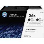 HP CF226XD 26X Toner Cartridge Black Laser High Yield 9000 Pages