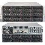 Supermicro SSG-5049P-E1CTR36L SuperServer Single Socket LGA3647 1200W Redundant PSU 4U Rackmount Server Barebone System (Black)