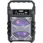 Naxa NAS-3096 Portable Bluetooth Speaker with LED Lighting Effects