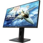 Asus VG258QR 24.5in Gaming Monitor 1920x1080 FHD165Hz G-SYNC Compatible 0.5ms DVI-D HDMI (1.4) DisplayPort (1.2) 2W Speake