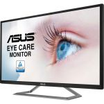 Asus VA32UQ 31.5in 4K UHD LED Gaming Monitor 16:9VA Panel 3840x2160 FreeSync 60Hz 4ms 2 Speakers HDMI DP Silver/Black
