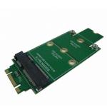 mSATA MINI SATA 3 SSD to M.2(NGFF) B KEY Adapter