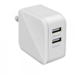 Comkia WCU-007WH Dual USB Wall Charger 5V4.8A (2.4/port) White