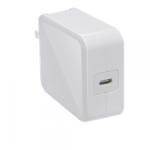 Comkia WCU-009WH USB-C Wall Charger White 5V 3A/9V 2A/14.5V 2A/20V 1.5A USB-C Power Delivery 30W Max Power