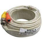 Okina UTP-BP030-W W-123-W 100Ft Camera Video & Power Premade Cable White