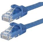 CAT6 Straight Patch 550MHz UTP Cable 75' BLUE