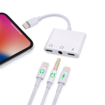 Lightning to 3.5mm and 2x Lightning Female Adapter
