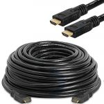 HDMI Active Cable Support 4Kx2K@60Hz M/M 33'Black (One Direction)