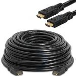 HDMI Active Cable Support 4Kx2K@60Hz M/M 40'Black  (One Direction)