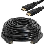 HDMI Active Cable Support 4Kx2K@60Hz M/M 50'Black  (One Direction)