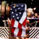 IPhone XS Case TPU with flag 3