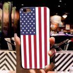 IPhone XS Case TPU w/ flag