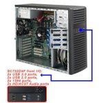 Supermicro CSE-732D4F-903B Desktop 900W Power Supply Black