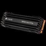 Corsair MP600 2TB Gen4 PCIe X4 NVMe M.2 SSD Drive CSSD-F1000GBMP600