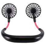 Portable Wearable Mini Fans Black