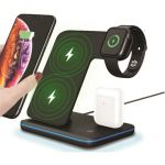Wireless Charging Stand 15W Max Grey