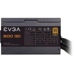 EVGA 500 GD 100-GD-0500-V1 500W 80 Plus Gold ATX12V Power Supply Heavy-duty protections DC-DC Converter improves 3.3V/5V stability