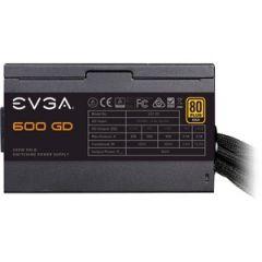 EVGA 600 GD 100-GD-0600-V1 600W 80 Plus Gold ATX12V Power Supply Heavy-duty protections DC-DC Converter improves 3.3V/5V stability