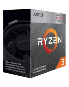 AMD Ryzen 3 3200G 4C/4T 3.6GHz/4.0GHz BoostSocket AM4 4MB Cache w/ Radeon Vega 8 Graphics 65W APU