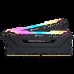 Corsair CMW32GX4M2A2666C16 32GB (2x16GGB) DDR4 2666Mhz 16-18-18-35 Vengeance RGB PRO Black