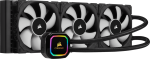 Corsair CW-9060045-WW Hydro Series iCUE H150i RGBPRO XT 360mm Radiator Advanced RGB Lighting and Fan Control Liquid CPU Cooler