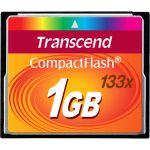 Transcend 1GB CompactFlash (CF) Card - 1 GB