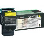 Lexmark Original Toner Cartridge - Laser - 4000 Pages - Yellow - 1 Each