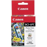 Canon BCI-6PC Original Ink Cartridge - Inkjet - 370 Pages - Cyan - 1 Each