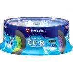 Verbatim CD-R 80min 52X with Digital Vinyl Surface - 25pk Spindle - 80min - 700MB - 25pk Spindle