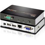 ATEN Proxime CE700A KVM Console/Extender - 1 Computer(s) - 1 Local User(s) - 1 Remote User(s) - 492.13 ft Range - WUXGA - 1920 x 1200 Maximum Video Resolution - 2 x Network (RJ-45) - 4