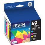 Epson T069120-BCS Ink Cartridge - Black  Yellow  Magenta  Cyan - Inkjet - 4 / Pack