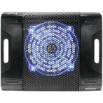 Thermaltake Massive23 LX Cooling Stand - 1 Fan(s) - 600 rpm rpm - 408.4 gal/min - Aluminum  Plastic - Black