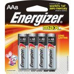 Energizer E91MP-8 MAX AA-8pk batteries