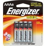 Energizer E92MP-8 MAX AAA-8pk batteries