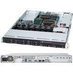 Supermicro CSE-113TQ-600WB SuperChassis 1U Rackmount Server Chassis Black