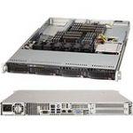 Supermicro SYS-6017R-NTF 1U Intel C602 Dual Xeon E5-2600 Series 4x HS 3.5in SAS/SATA Intel  i350 Dual Port Gigabit