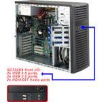 Supermicro CSE-732D4-903B Desktop 900W Power Supply Black