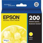 Epson DURABrite Ultra 200 Original Ink Cartridge - Inkjet - Yellow - 1 Each