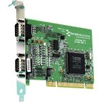 Brainboxes 1 Port RS232 plus 1 Port RS422/485 PCI Serial Card - Plug-in Card - Universal PCI - PC - 2 x Number of Serial Ports External - TAA Compliant