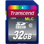 Transcend Industrial 32 GB Class 10 SDHC - 20 MB/s Read - 16 MB/s Write - 2 Year Warranty