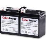 CyberPower RB1270X2A UPS Replacement Battery Cartridge 12V 7AH - 7000 mAh - 12 V DC - Sealed Lead Acid (SLA) - Spill-proof/Maintenance-free - 3 Year Minimum Battery Life - 5 Year Maximu