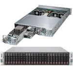 Supermicro SuperServer 2027PR-DTR Barebone System - 2U Rack-mountable - Intel C606 Chipset - 2 Number of Node(s) - Socket R LGA-2011 - 2 x Processor Support - Black - 1 TB DDR3 SDRAM DD