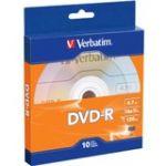 Verbatim 97957 DVD-R 4.7GB 16x 10-Pk