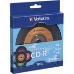 Verbatim 97935 CD-R 80min 52X with Digital Vinyl S urface - 10pk Bulk Box