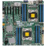 Supermicro X10DRH-iT Server Motherboard - Intel Chipset - Socket LGA 2011-v3 - 1 TB DDR4 SDRAM Maximum RAM - 16 x Memory Slots - Gigabit Ethernet - 2 x USB 3.0 Port - 3 x RJ-45 - 10 x S